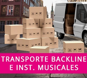 Transporte de Backline e Instrumentos Musicales